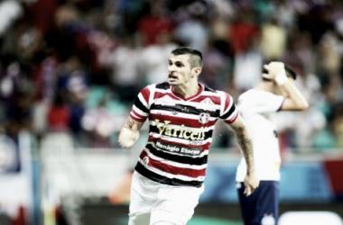 Bruno Moraes ficará até o final da temporada 2016 no Santa Cruz (Foto: Antônio Melcop/Santa Cruz)