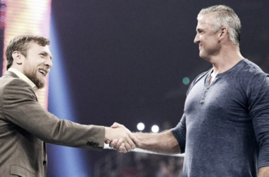 What's going to happen during the first SmackDown Live run by Daniel Bryan and Shane McMahon? Photo: WWE.com
