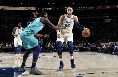 Ben Simmons. Fonte: Philadelphia 76ers/Twitter