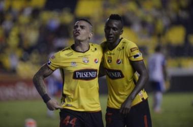 Jonathan Álvez celebra su gol. Foto: José Beltrán