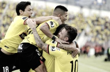 Barcelona SC atraviesa una buena racha tanto en Copa Libertadores como en el Campeonato Ecuatoriano. Foto: API