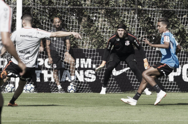 Equipe venceu dois, dos três amistosos durante a parada da Copa (Foto:Daniel Augusto Jr./Agência Corinthians)