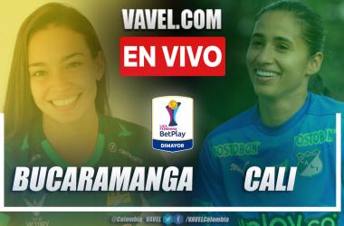 Resumen: Bucaramanga 0-2 Cali en la fecha 1 del grupo B por Liga Femenina 2021