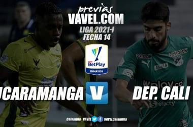 Previa Atlético Bucaramanga vs Deportivo Cali: dos equipos con necesidad de victoria en busca de un lugar en los ocho
