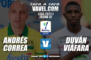 Cara a cara: Duván Viáfara vs Andrés Felipe Correa