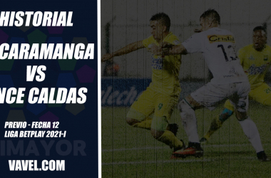 Historial Atlético Bucaramanga vs Once Caldas: El 'blanco blanco', contudente ante el 'leopardo'
