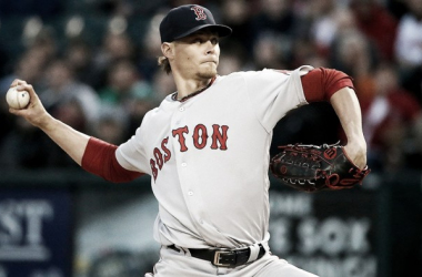 Clay Buchholz is one of the most unpredictable pitchers in the American League. (Credit: Boston Red Sox)