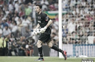 La leyenda de Buffon en la Champions se agrandará en el encuentro frente al Lyon