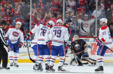 Montreal confirma su presencia en los playoffs apabullando a Buffalo