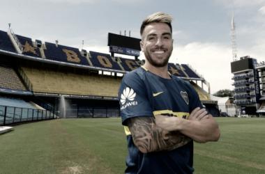"""""""Buffarini es el nuevo refuerzo de Boca"""" Fuente: Sitio Oficial Boca Juniors"""