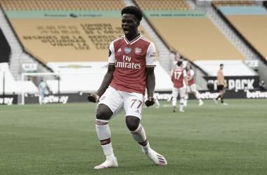 BukayoSaka, notodosonmalasnoticiaspara el Arsenal