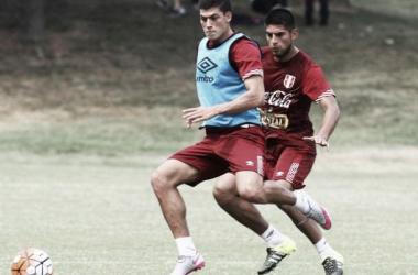 El delantero Iván Bulos sería del arranque en el equipo peruano. (FOTO: libero.pe)