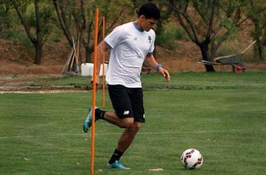 Iván Bulos ya entrena bajo las órdenes de Cristián Arán. (Foto: O'Higgins)