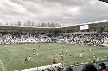 Burgos - Unionistas CF. Foto: USCF