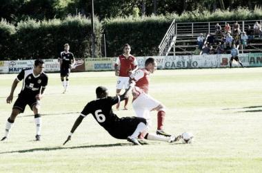 Racing Santander 1 - 0 Burgos CF: la Diosa fortuna sonríe a los santanderinos