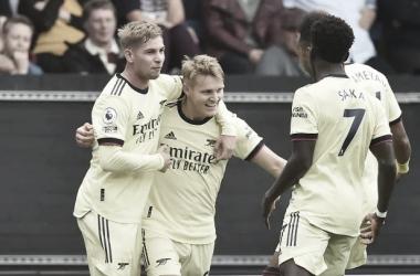 Goals and Highlights: Arsenal 3-1 Aston Villa in Premier League