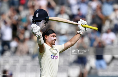 Rory Burns scored a century for England in the first test | Photo by Shaun Botterill - Getty Images