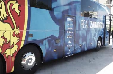 Autobus del equipo | Foto: Real Zaragoza