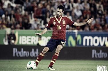 """Del Bosque: """"Busquets va a liderar la selección"""""""