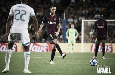 """Sergio Busquets: """"La Liga está muy igualada"""""""
