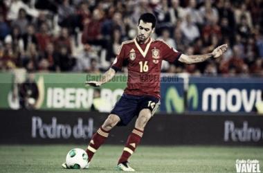 Cien veces Sergio Busquets