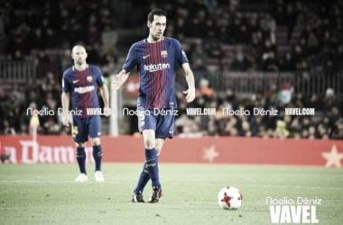 El centrocampista azulgrana en una imagen de archivo / Foto: Noelia Déniz (VAVEL.com)