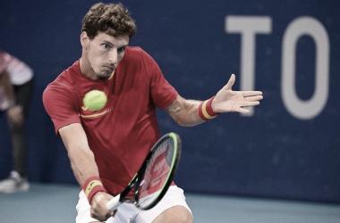 Pablo Carreño Busta venceu Daniil Medvedev em Tokyo 2020 (ATP / Divulgação)