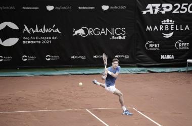 Pablo Carreño Busta venceuKwon Soon-Woo no ATP 250 de Marbella 2021 (ATP / Divulgação)