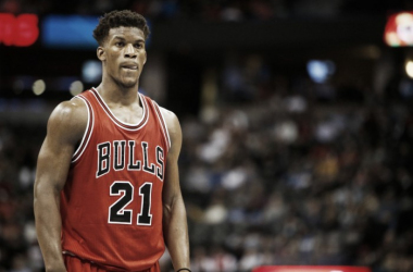 Jimmy Butler will be crucial to any success Chicago has against Denver. Photo: USA-TODAY Sports