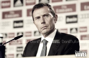 'El Buitre' en una rueda de prensa/ Foto: Dani Mullor (VAVEL)