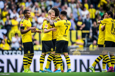 Borussia Dortmund celebrate (Getty Images/Lukas Schulze/Bundesliga)