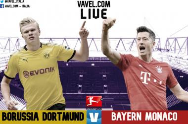 Terminata Borussia Dortmund - Bayern Monaco in diretta, LIVE Bundesliga 19/20: Vince il Bayern! (0-1)!