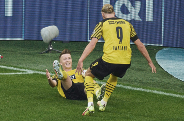 Eintracht, la primera víctima del Dortmund