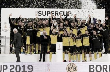 Borussia Dortmund derrota Bayern e se sagra campeão da Supercopa da Alemanha