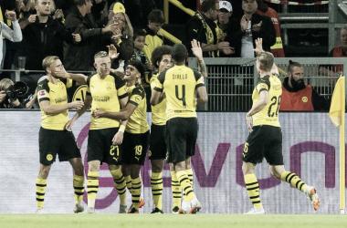 """Ex-Frankfurt, Wolf celebra primeiro gol pelo Borussia Dortmund: """"Pessoalmente estou muito satisfeito"""""""