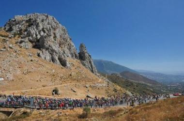 La meta de hoy en Alcaudete pica ligeramente hacia arriba (foto: ASO).