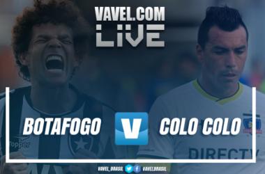 Resultado Botafogo x Colo-Colo pela Copa Libertadores 2017 (2-1)