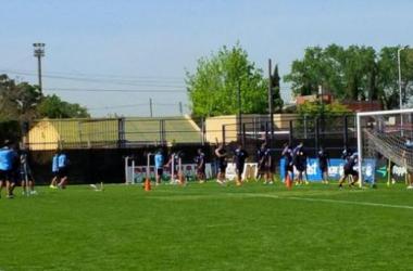 Primer entrenamiento pensando en Vélez