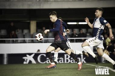 Foto de archivo de Carles Pérez durante un partido. FOTO: Noelia Déniz