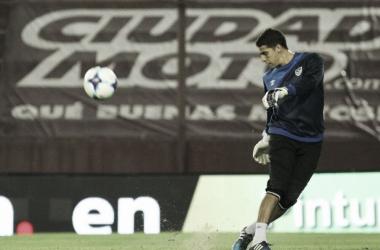 Aguerre volverá a luchar por la titularidad en el segundo tramo de la Superliga | Foto: Prensa Vélez Sarsfield