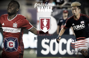 2016 Lamar Hunt U.S. Open Cup: Chicago Fire, New England Revolution vying for spot in Final