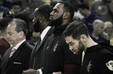 Fonte: Cleveland Cavaliers/Twitter
