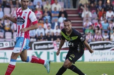 El CD Lugo, visita a la U.E. Llagostera con ambos equipos en racha. (Foto: Mundo Deportivo)