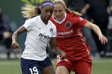 Crystal Dunn (19) becomes youngest ever to be named NWSL MVP / USA Today Sports
