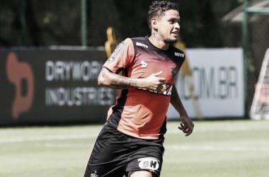 Carlos Eduardo deve fazer sua estreia pelo Atlético neste sábado (14), contra o Santos, no Horto (Foto: Bruno Cantini/Atlético-MG)