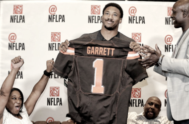 Myles Garrett was the first overall pick in the 2017 NFL Draft | Source: clevelandbrowns,com