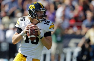 C.J. Beathard had 245 yards passing in his first start this year (Michael Conroy / AP Photo)