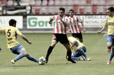 UD Logroñés 1-0 Real Unión (Temporada 2016-17) | Foto: UD Logroñés