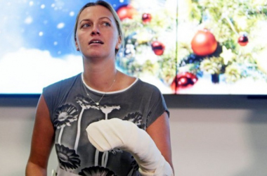 """Tennis - Kvitova sorridente e speranzosa: """"Sto bene, è il miglior regalo di Natale"""""""