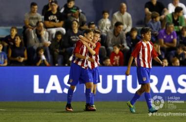 El Atlético, subcampeón de LaLiga Promises